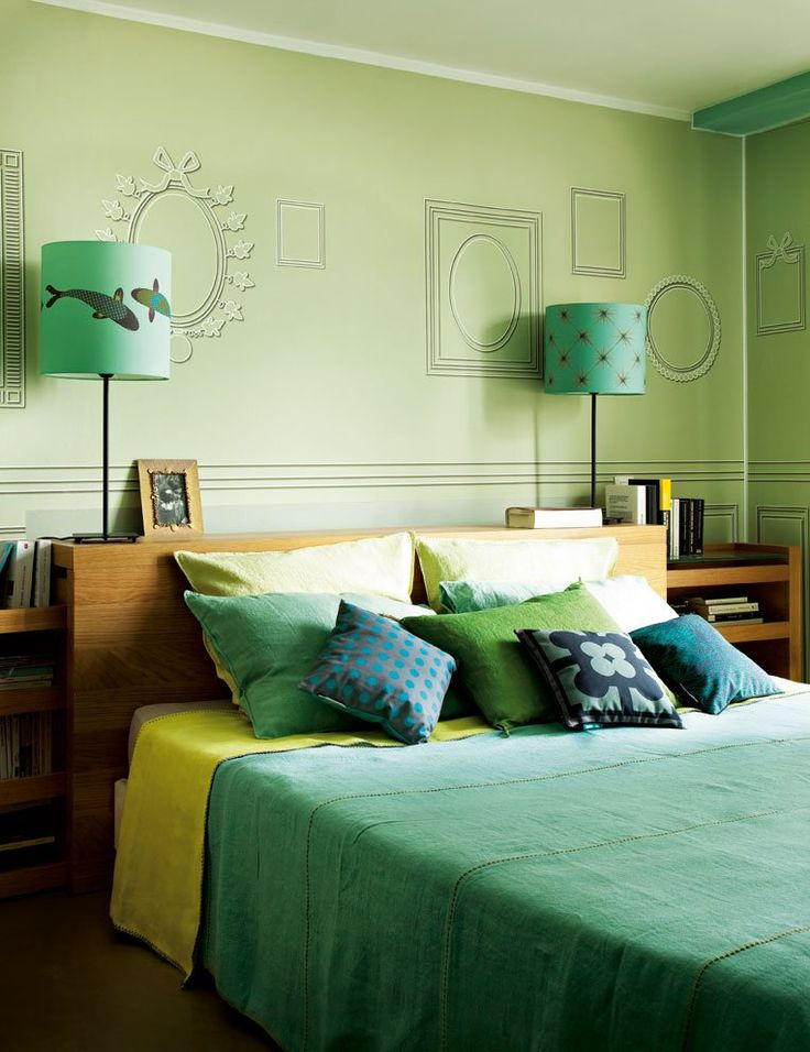 A Bedroom in Green