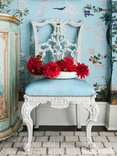 A George III–style mahogany chair