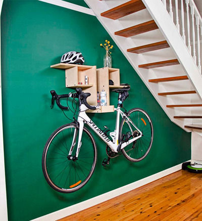 Bespoke Bike Shelf