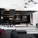 A Dark Hamptons Home