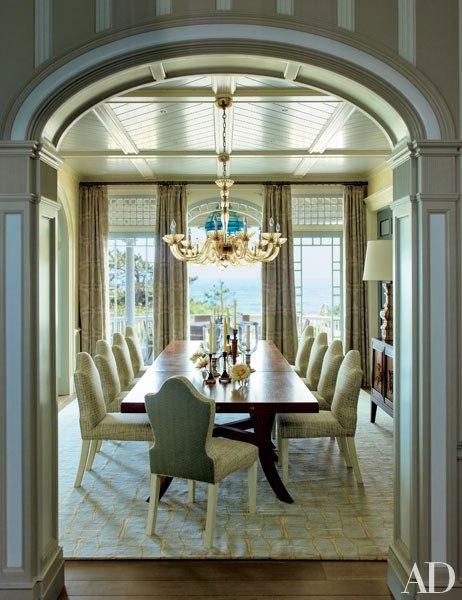Long Island Beach House dining room