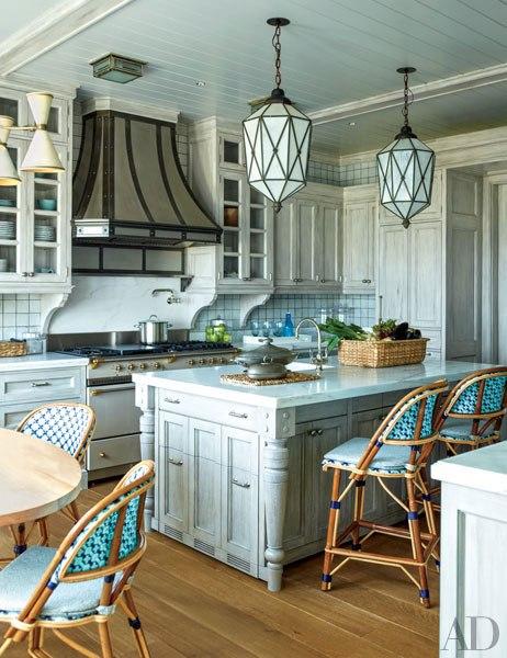 Long Island Beach House kitchen