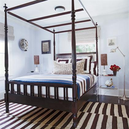 Southampton Cottage by Timothy Whealon master bedroom