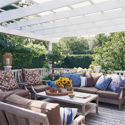 Southampton Cottage by Timothy Whealon outdoor