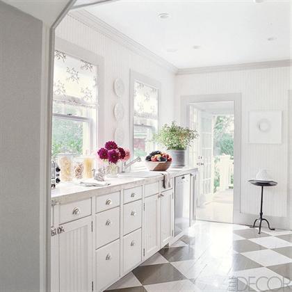 Southampton Cottage by Timothy Whealon white kitchen