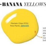 Paint Palette - Banana Yellows