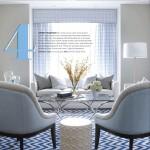 Fresh Contemporary Interior in Blue