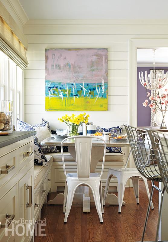 breakfast nook cottage modern