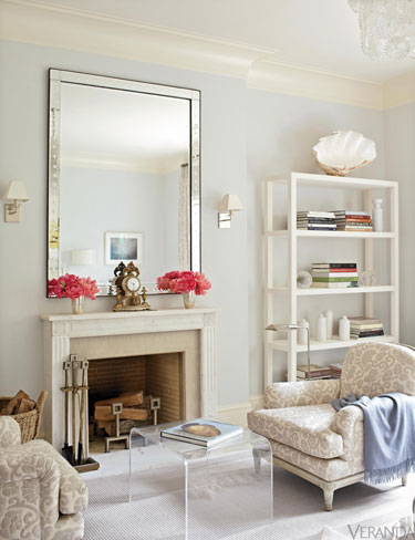 eutral living room manhattan