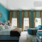 Master Bedroom in Turquoise