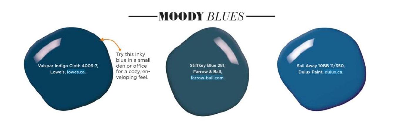 blue paint color palettes - interiorscolor (8 interior