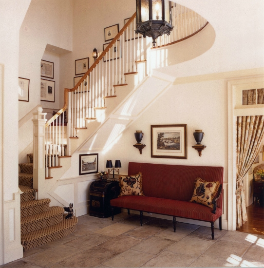 Traditional Interior Design By Ownby: Traditional Home In Neutrals