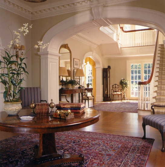 traditional interior design created by Karen Houghton Interiors ...