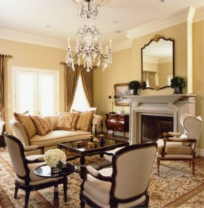 Traditional Home in Neutrals