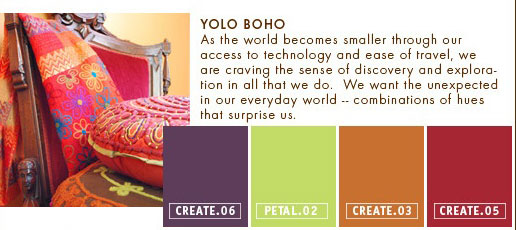 Yolo Boho Color Palette
