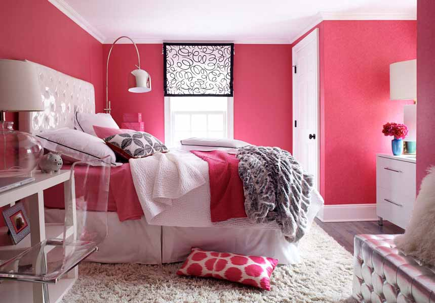 Pink Room For Girls Interiors By Color