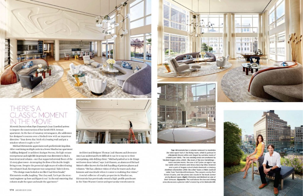 A Tall Order for Architectural Digest November 2013 1