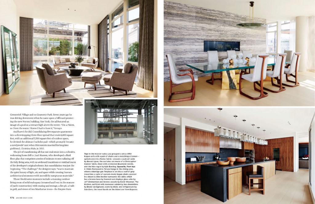 A Tall Order for Architectural Digest November 2013 2
