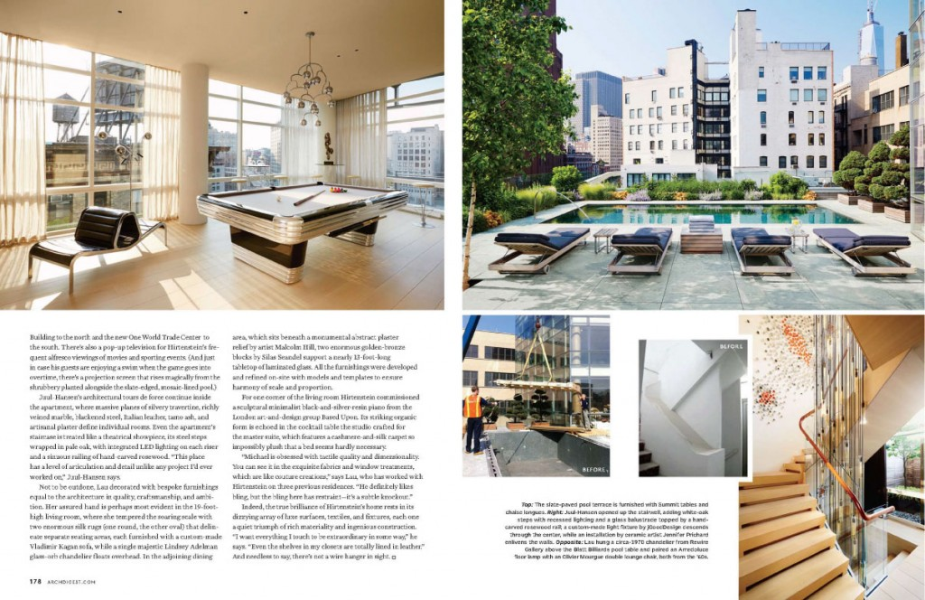 A Tall Order for Architectural Digest November 2013 3