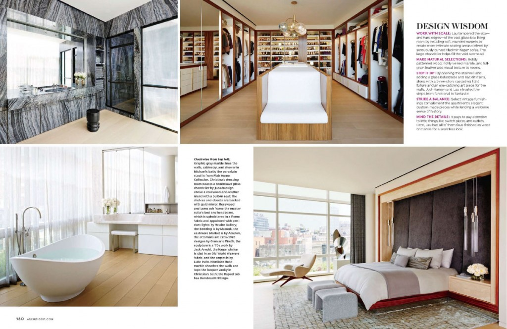 A Tall Order for Architectural Digest November 2013 4
