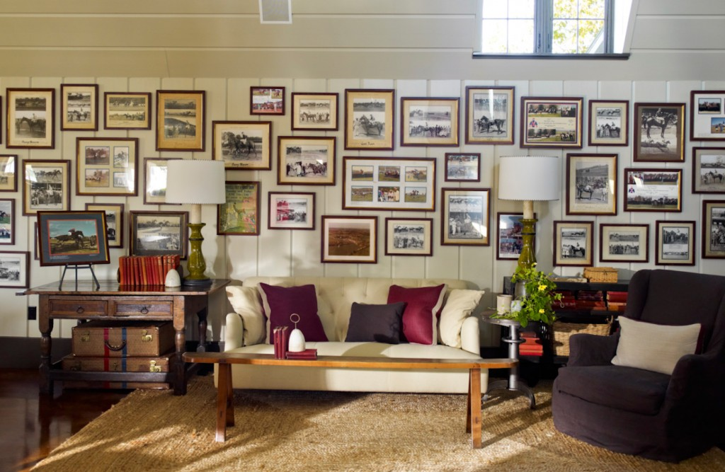 Barn Project by S.R. Gambrell living room