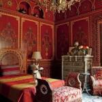 Bill Willis Red Bedroom Morocco