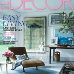Elle Decor July August 2014 Cover and Story