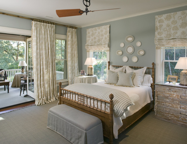 Southern Bedroom in Light Blue