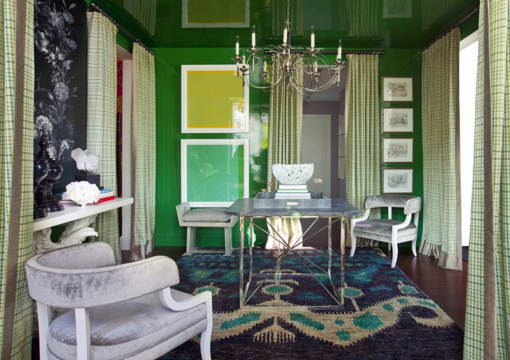 Green with Aviary by Thom Filicia