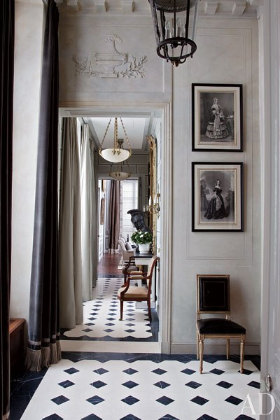 Jean Louis Deniot Paris Style Apartment Interiors By Color