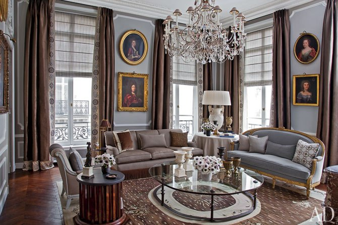 Jean-Louis Deniot paris living room