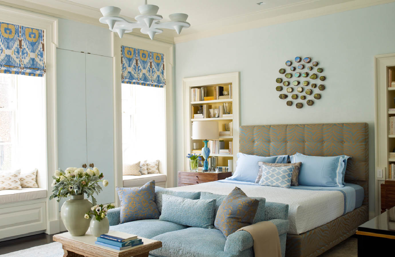 Lower Fifth Townhouse Interiors By Color