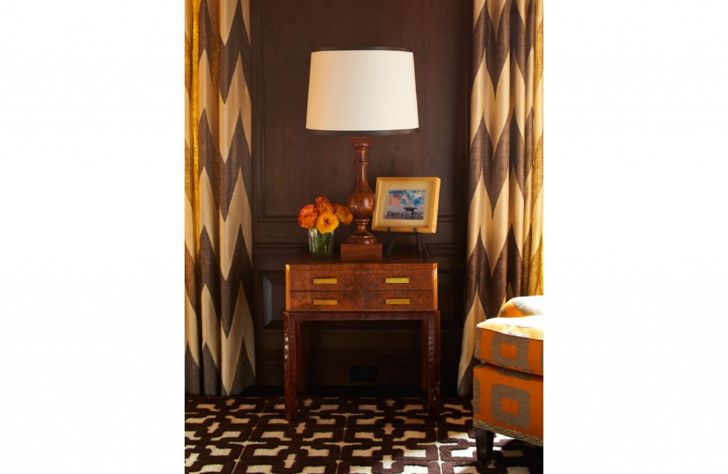 Lower Fifth Townhouse orange and brown