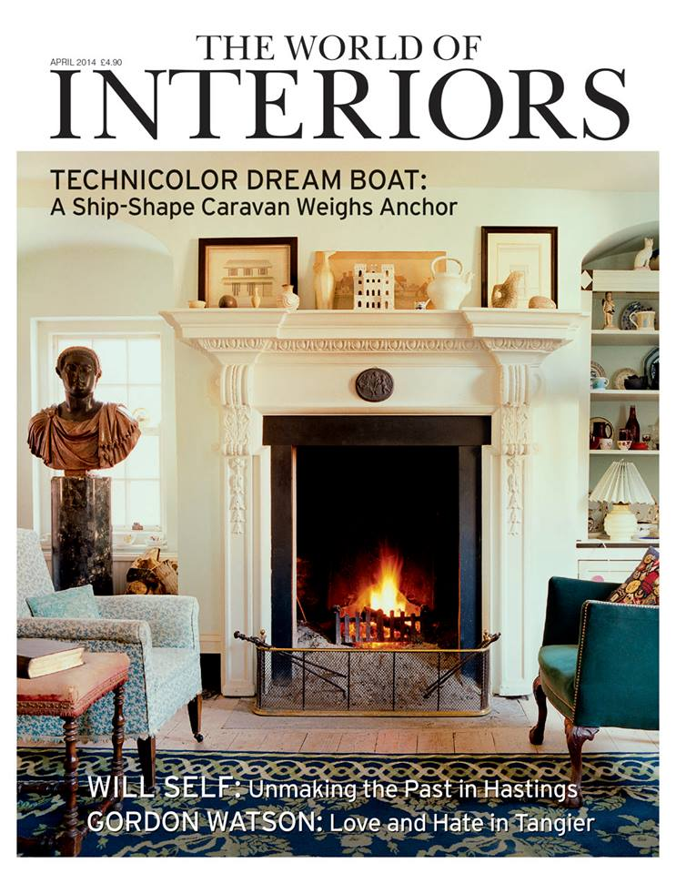The World of Interiors Magazine Cover April 2014