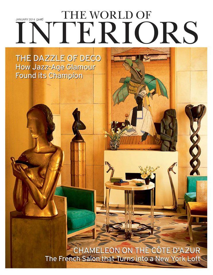 The World of Interiors Magazine Cover January 2014