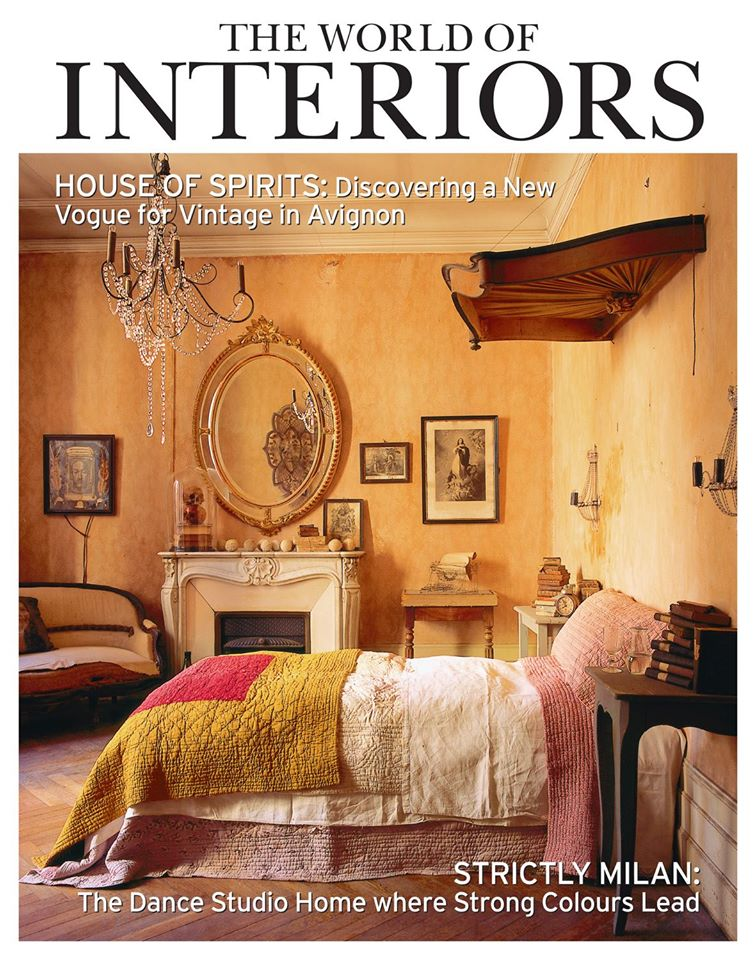 The World of Interiors Magazine Cover June 2014