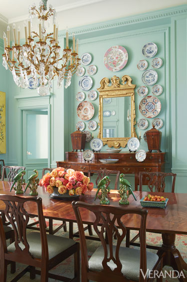 Whimsical Tableau Dining Interiors By Color