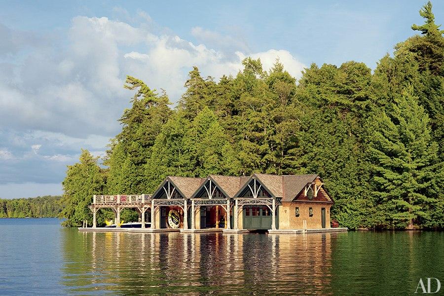 big rock boat house exterior