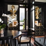 Dining in Black and Gold