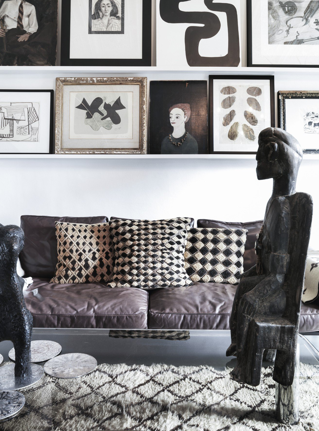 Contemporary Patterns And Art Interiors By Color