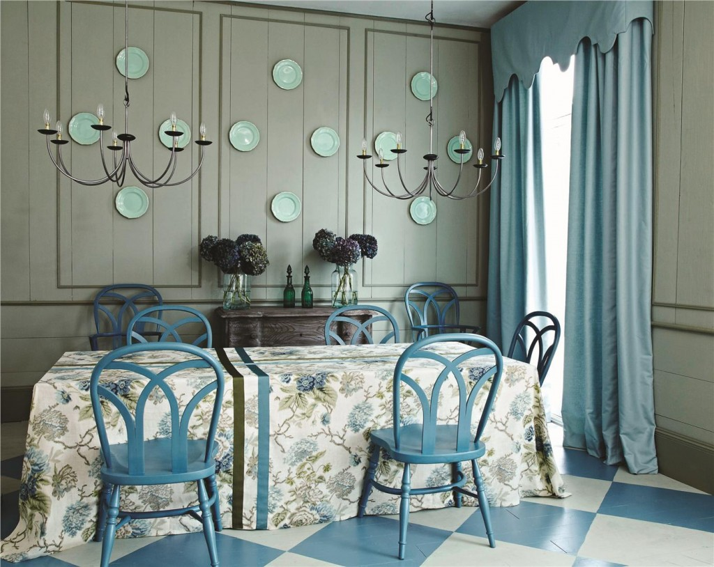 cooks blue chairs