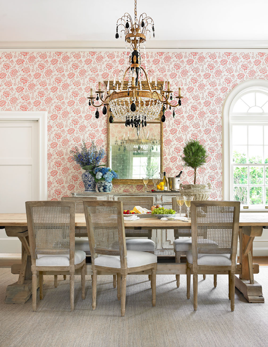 Rustic Floral and Swedish Inspired Chairs