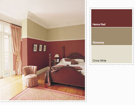 dulux paint colours for bedrooms red bedroom