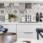 Black and White Pattern Cement Tiles