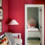 Saturated Red Wall