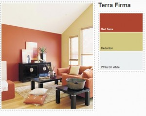 Terra Firma - Orange and Yellow