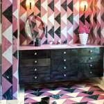 Pink Marble Bathroom