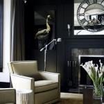 Rocky Ledge - Black Living Room