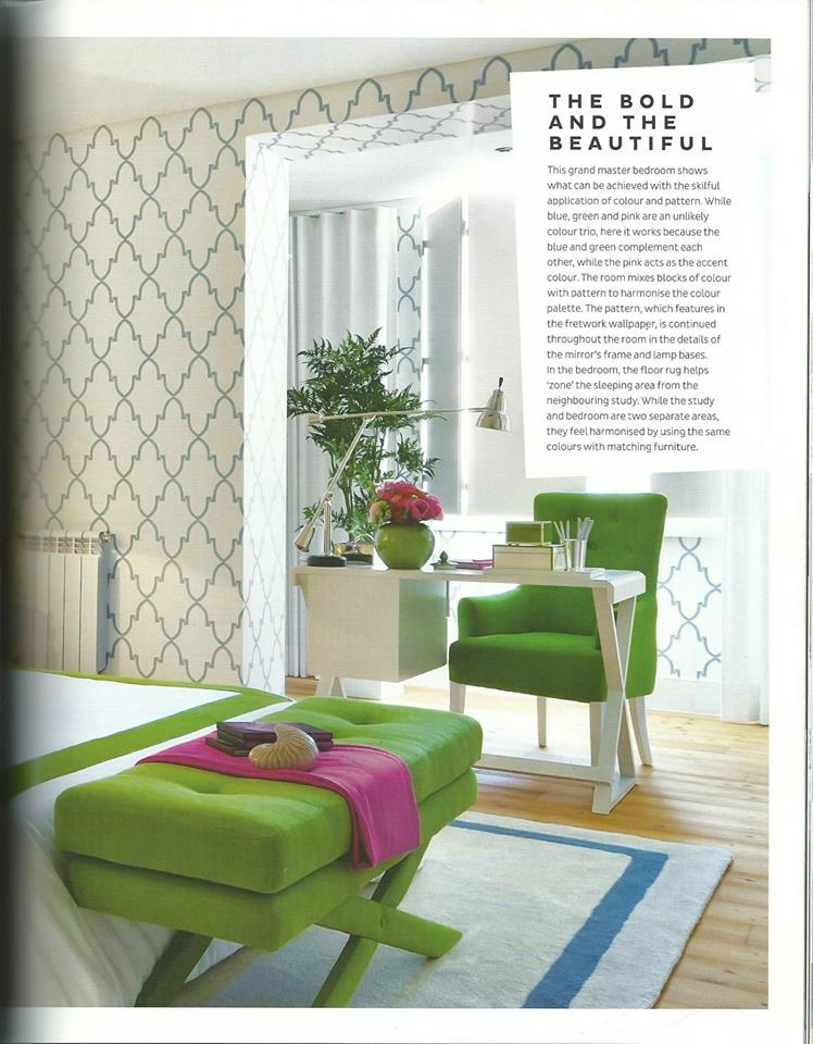 Loni Parker Interior White Green And Pink Interiors By