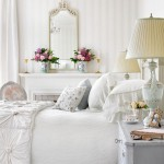 White Bedroom Design Traditional